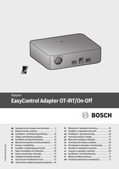 Bosch EasyControl User's Installation And Operation Manual