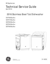 GE DDT595SxJ0 Series Technical Service Manual
