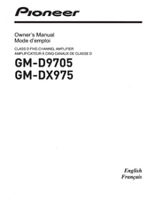 Pioneer GM-DX975 Owner's Manual