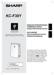 Sharp KC-F30Y Operation Manual