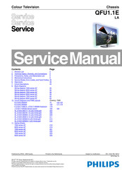 Philips 40PFL7007H/12 Service Manual