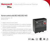 Honeywell BCU 460 Technical Information