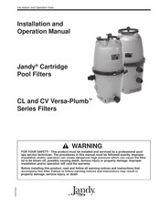 Jandy CV Versa-Plumb Series Installation And Operation Manual