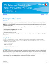 Xerox WorkCentre 77 Series Reference Manual
