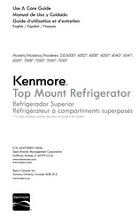Kenmore 253.6000 Series Use & Care Manual