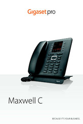 Gigaset Pro Maxwell C User Manual