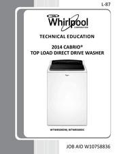 Whirlpool Cabrio Wtw8500dw Technical Education Pdf Download Manualslib