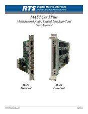 Bosch MADI Card Plus Series User Manual