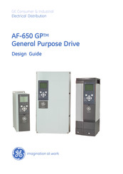 GE AF-650 GP Series Design Manual