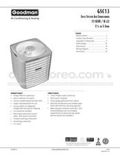 goodman heating wiring diagram free download goodman gsc130421c manuals  goodman gsc130421c manuals