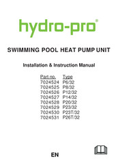 Hydro-pro P12/32 Manuals   ManualsLib   Hydro Pro Pool Pump Wiring Diagram      ManualsLib