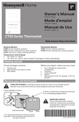 Honeywell CT54 Owner's Manual