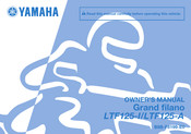 Yamaha Grand filano LTF125-I Owner's Manual