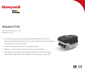 Honeywell KromSchroder IC 40 Technical Information