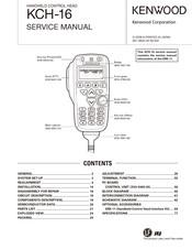 [DIAGRAM_1CA]  KENWOOD KCH-16 SERVICE MANUAL Pdf Download | ManualsLib | Kenwood Kmc 41 Microphone Wiring Diagram |  | ManualsLib