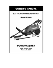 PowerWasher H100P Owner's Manual