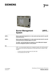 Siemens LMV 5 Series Manual