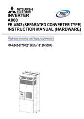 Mitsubishi Electric FR-A842-08660 Hardware Instruction Manual