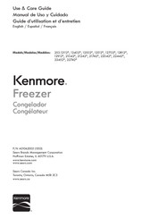 Kenmore 253.22452 series Use & Care Manual