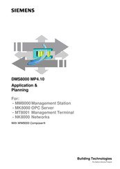 Siemens DMS8000 Applications And Planning Manual