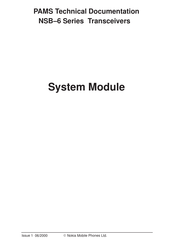 Nokia NSB-6 Series Technical Documentation Manual