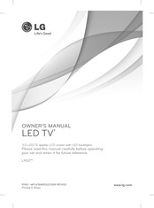 LG 32LN5200-ZA Owner's Manual