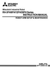 Mitsubishi Electric RH-1FHR-S60 Series Instruction Manual