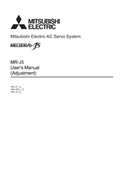 Mitsubishi Electric MELSERVO J5 Series User Manual
