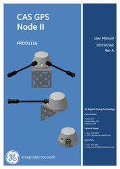 GE CAS GPS Node II User Manual