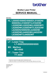 Brother HL-5580D Service Manual