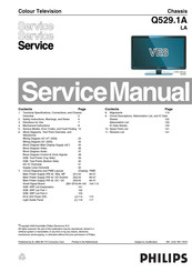 Philips VE8 Service Manual