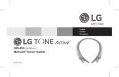 LG TONE Active HBS-850 User Manual