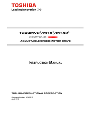 Toshiba T300MTX Instruction Manual