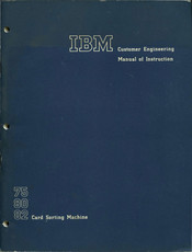 IBM 80 Customer Engineering Manual