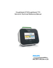 Philips Respironics CoughAssist T70 Service & Technical Reference Manual