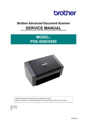 Brother PDS-5000 Service Manual