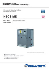 Mitsubishi Electric CLIMAVENETA NECS-ME 0352 Technical Bulletin