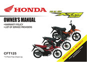 Honda XRM125 2018 Owner's Manual