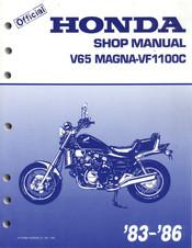 Honda V65 Magna Vf1100c 1984 Manuals Manualslib