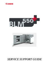 Canon BLM 550+ Service Support Manual