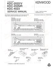 Kenwood KDC-2022V Service Manual