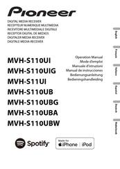Pioneer MVH-S110UI Operation Manual