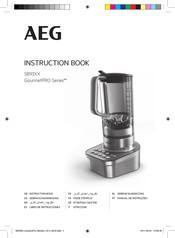 AEG GourmetPRO SB93 Series Instruction Book