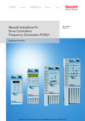 Bosch Rexroth IndraDrive FCS01 Series Operating Instructions Manual