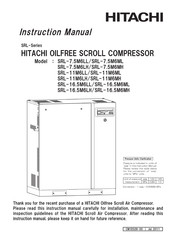 Hitachi SRL-16.5M6ML Instruction Manual