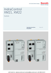 Bosch Rexroth IndraControl XM21 Operating Instructions Manual