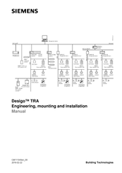 Siemens Desigo TRA Engineering, Mounting And Installation Manual