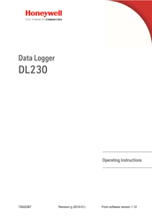 Honeywell DL230 Operating Instructions Manual
