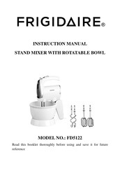 Frigidaire FD5122 Instruction Manual