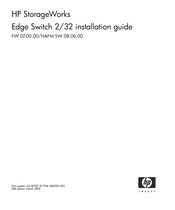 HP StorageWorks Edge Switch 2/32 Installation Manual